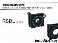 Kinematic And Rotary Mount With 3 Adjusters RSD