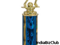 Medium Female Soccer Trophy