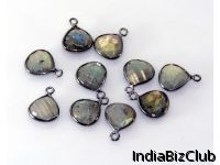 Heart Charms Labradorite Heart Charms