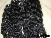 Indian Remy Hair Weft Steam Permed Body Wavy