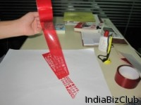 Anti Counterfeit Tape