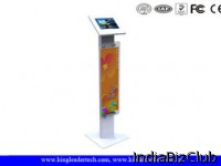 10 1 Inch Floor Stand Tablet Kiosk Mount With Key Locking For Advertising