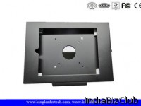 9 7 Inches IPad Kiosk Enclosure Stand With Camera Hole Exposed