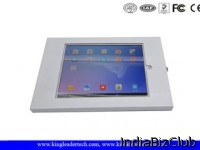Full Metal Jacket Ipad Kiosk Enclosure For 9 7 Inch Tablets With Key Locking Accessories
