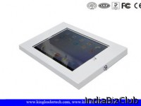 Lockable Cold Rolled Steel Ipad Kiosk Enclosure With Vesa Mounting