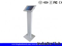Trade Show Secure Ipad Kiosk Ipad Stand Kiosk Enclosure For Displaying