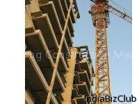 3T 25T Building Construction Electric Self Erecting Tower Crane Spare Parts Tower Head