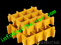 MOLDED FRP GRATING Strong But Lightweight