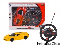 1 16 4 CH RC Car With Lighting