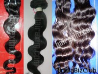 Indian Virgin Machine Weft Hair Exim