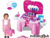 Benison India 2 In 1 Beauty Play Set Chair For Your Little Princess