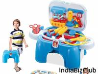 Bension India Battery Operated Doctor S Kit With Light Sound Effects