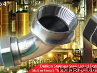 Delikon COMPLETE Stainless Steel Liquid Tight Connector Liquid Tight Stainless Steel Conduit System For Food Pharmaceutical Brewing Dairy And Soft Drinks Industries As The Market Leader For Electrical Flexible Conduit System Delikon   Proud To Be Ref