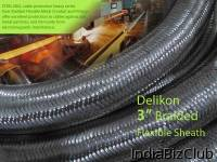 Delikon Steel Mill Automation Delikon Heavy Series Over Braided Flexible Conduit Braided Conduit Fittings For Steel Industry Automation Cabling Solution Delikon Heavy Series Over Braided Flexible Conduit And Braided Conduit Fittings Are Designed For
