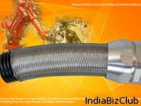 Flexible Over Braided Corrugated Nylon Conduit Nylon Fittings For Industry Robot Industry Control Cables Nylon Conduit System Protects Sensitive Cabling In Industry Control And Industry Robots EMC Screening   Becoming A Necessity In An Increasing Num