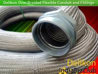 Steel Mill Automation Delikon Heavy Series Over Braided Flexible Metal Conduit Heavy Series Flexible Sheath Flexible Conduit Fittings System For Industry Wirings Flexible Metallic Overbraided Systems From Delikon Provide The Best Solution For The Mos