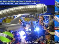 DELIKON Automation Delikon Heavy Series Flexible Sheath Over Braided Flexible Conduit And Conduit Fittings Delikon Heavy Series Over Braided Flexible Conduit And Fittings For Steel Mills Coke Plants Cable Protection P Align Center A Href Img Border 0