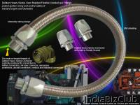 Delikon Heavy Series Over Braided Flexible Conduit And Fittings Protect Ignition Wiring And Control Wiring Of Industry Engine And Generator Delikon   A Technology Leader In The Design Manufacture And Supply Of High Performance Electrical Flexible Con