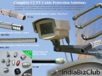 Flexible Conduit System Flexible Conduit Fittings For CCTV Cable Protection Solutions DELIKON S Whole Range Of Flexible Conduit Systems Provides Dedicated Protection To Vulnerable CCTV Systems Not Only From The Elements But Also From The Threat Of Va