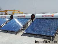 Solar Water Heating System For Day And Night 365 Days