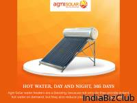 Solar Water Heating Systems Solar Water Heaters Agni Solar Systems Pvt Ltd