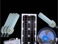 Solar Home Lighting Systems With Dc Fan