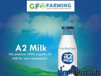 Pure And Organic A2 Milk Green Field Organic Farming