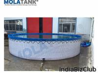 Flexible Fish Farming Aquaculture Tanks
