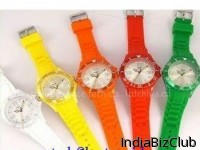 Silicone Watch Silica Gel Wristwatches Papa Watches Slap Band Watch H