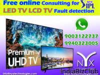 Free Consulting For LED TV LCD TV Fault Detection