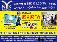 NYX LED TV SERVICE -Product