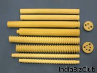 Ceramic Spiral Supporting Holders Rod Type