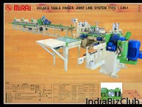 Machine Finger Joint Double Table Line System 3 In 1