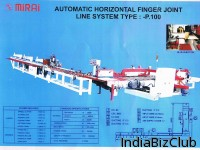 Machine Finger Joint Horizontal Fully Automatic
