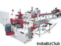 Machine Finger Joint Mirai Vertical Fully Automatic Double Table 3 In 1 System