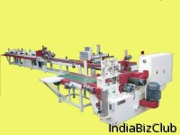 Machine Finger Joint Vertical Double Table Line System