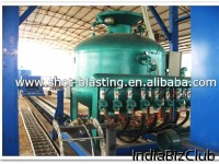 Steel Pipe Internal And External Surface Descaling Machine