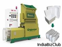 High Productivity GREENMAX M C200 Styrofoam Densifier For Sale