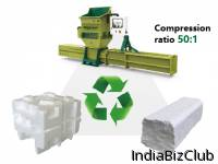 Plastic Machinery Of GREENMAX A C200 EPS Compactor