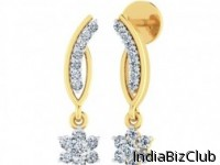 Diamond Drops A TO Z Tia Diamond Earrings