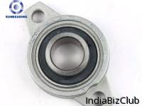 SUNBEARING UFL003 Pillow Block Bearing Silver 17 71 46mm Stainless Steel GCR15
