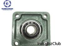 SUNBEARING UKF206 Pillow Block Bearing 25mm Chrome Steel GCR15 Green