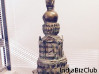 Old Buddhist STUPA In Five Metals Combo