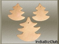 Handmade Clay Snow Tree Trends Terracottas