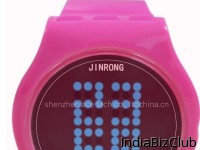 2012 New Led Touch Screen Creative Electronic Gifts Concept Watch