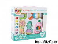 Baby Toys Combination Plastic Rings