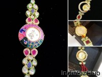 AD Kundan Wrist Watches