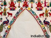 Gate Parda Or Toran Embroidery