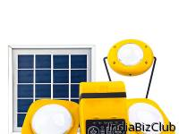 Solar LED Home System 3 LED Lamps Powerbank Solar Panel