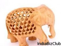 Handicrafted Wooden Elephant